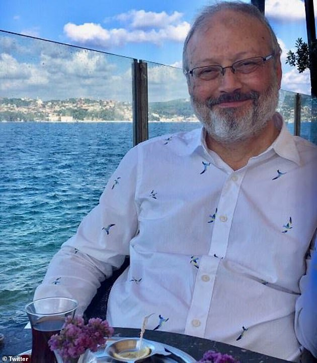 Jamal Khashoggi, a Washington Post reporter who spent much time in the west, on holiday