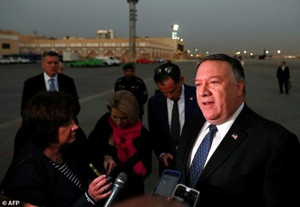 Mike Pompeo in Turkey as Saudi faces new claims over Jamal ...