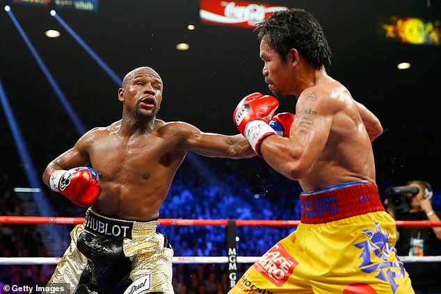 The two former pound-for-pound kings met in the richest fight in boxing history back in 2015