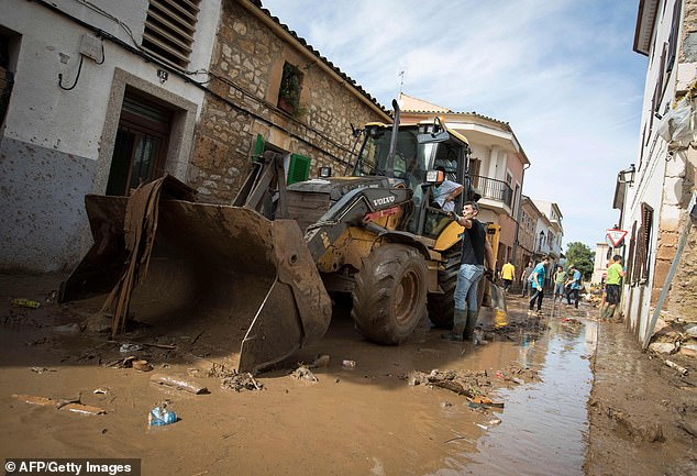 The heavy rain will come just days after Hurricane Leslie battered Spain and Portugal