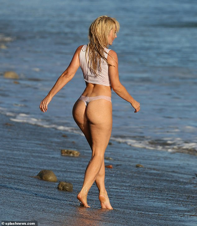 Back View: Nikki let Pulse race as she whistled her genetically blessed buddy