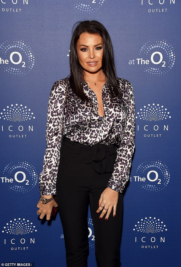 On the horizon: Speaking at the O2 ICON Outlet bash in London on Thursday night, the former TOWIE star, 33, hinted to MailOnline she had found someone 'really special'