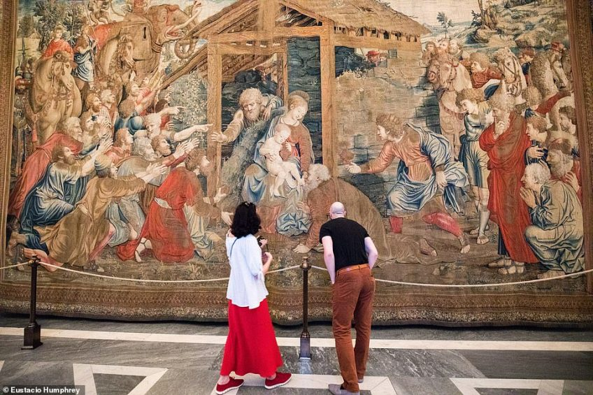 Early entry on the 'Wake up in the Vatican' experience means visitors can enjoy the art in the museums without the crowds