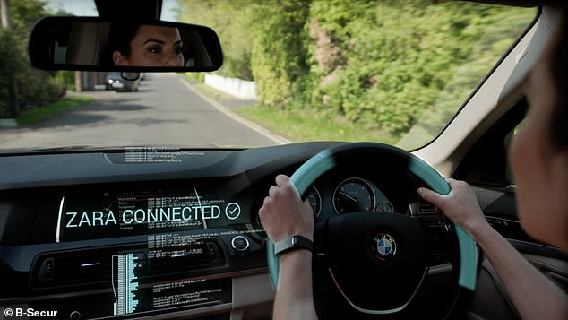 British firm B-Secur is working on technology that will place medical-grade technology inside a car's steering wheel and monitor the driver's unique cardiac rhythm.This could also be used as a 'key' to the device, only opening following the detection of the heartbeat of the owner
