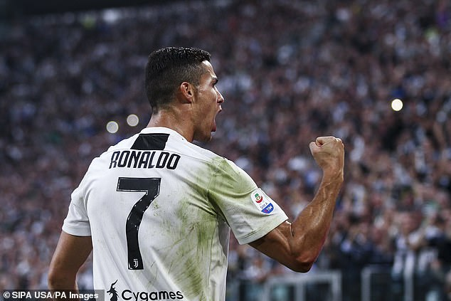 Ronaldo is the ticket to something better for Serie A champions, a seat at Europe's top table