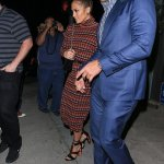 J'lo dons Chanel for date night with Alex Rodriguez