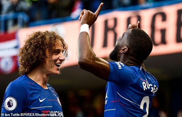 Risultati immagini per Rudiger David Luiz