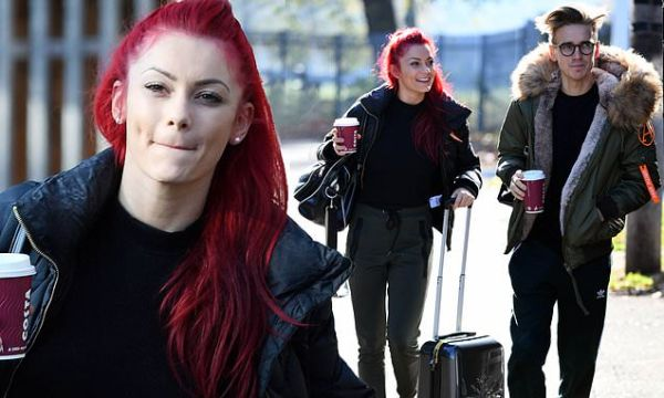 Strictly's Dianne Buswell and Joe Sugg seen after ...