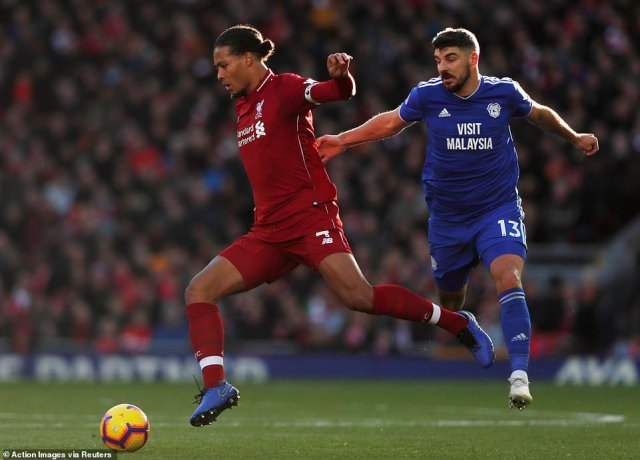 Dutch defender Virgil van Dijk captained Liverpool for a second game in succession on Saturday afternoon