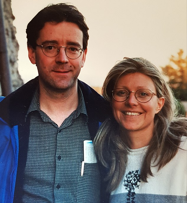 Jane, pictured here with her husband Andrew, asked her oncologist to prescribe her drugs not normally given to cancer patients