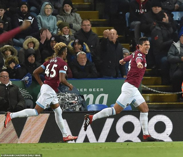 West Ham thought they had done enough to win it as Fabian Balbuena's goal separated the sides for much of the contest