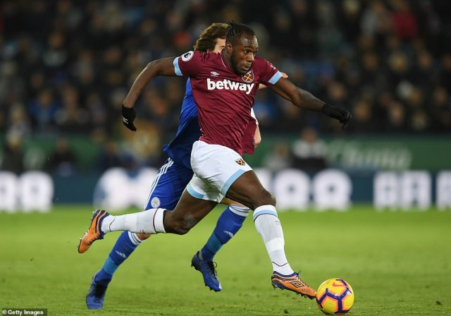 West Ham were made to do it the hard way but Michail Antonio helped provide fresh legs and real pace from the subs bench