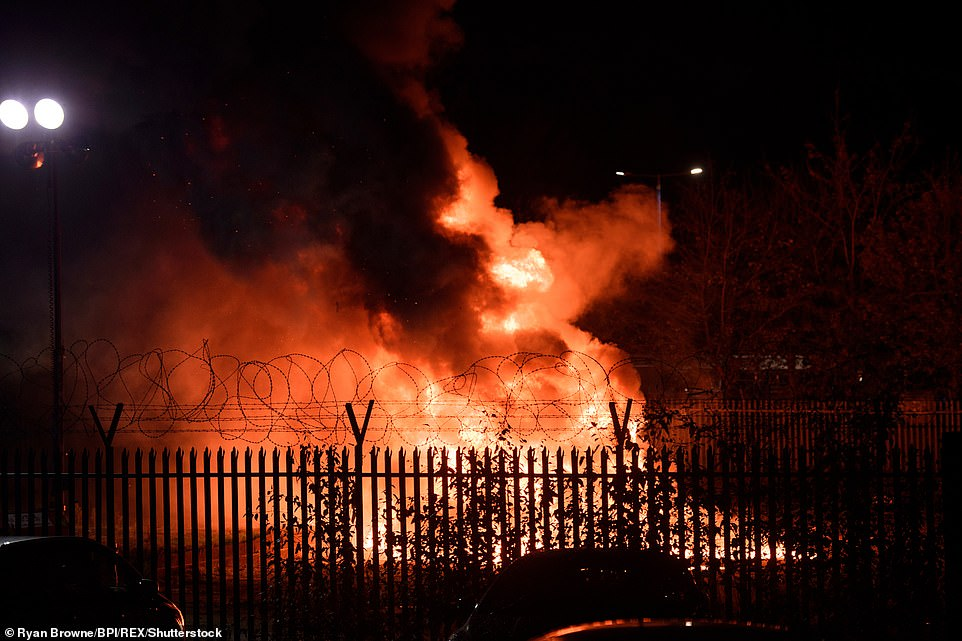 The helicopter belonging to Leicester owner Vichai Srivaddhanaprabha crashed outside the King Power Stadium following Leicester's 1-1 draw with West Ham yesterday and burst into a flames. He and the five others inside were tonight confirmed to have died
