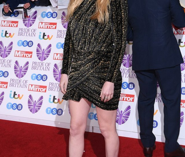 Ellie Goulding Looked Radiant As She Attended The Pride Of Britain Awards