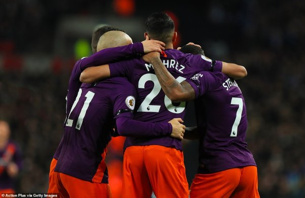 Tottenham 0-1 Manchester City: Riyad Mahrez's early opener ...