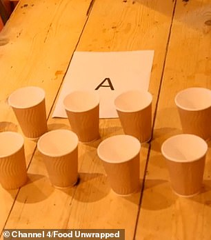 All volunteers preferred the drink from Table A.