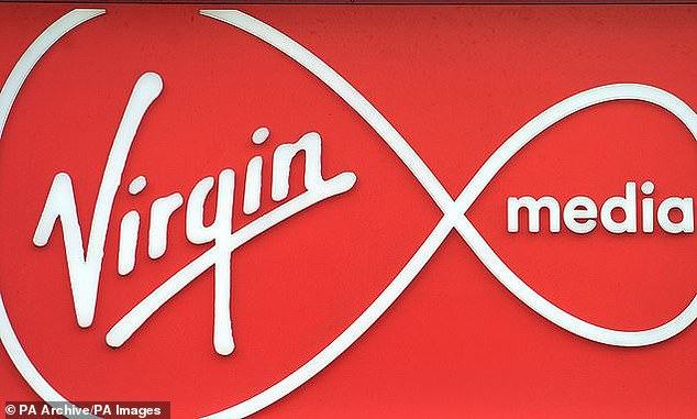 Virgin Media has been named a broadband provider where customers are most likely to experience problems. Survey published today. Seven out of ten Virgin customers said they had problems last year (picture).