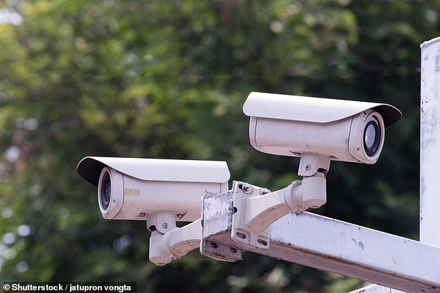 China will have over 600 million AI cameras (file photo) until the system is built