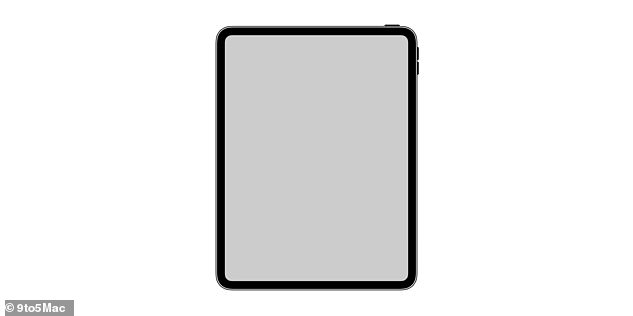 A new icon found in Apple's iOS sheds light on what the next iPad Pro might look like. The picture shows a device with rounded corners, no home button and no notch