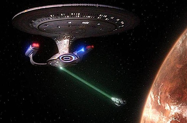 "Star Trek saw many ships with tractor beam capabilities that were often used to ""freeze"" or move enemy ships"