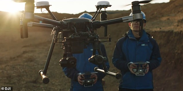 The British Civil Aviation Authority also issued a safety notice stating that about 200 drone models lost their performance during the flight and dropped straight down