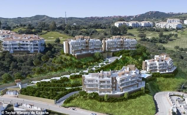 For golf fanatics: Taylor Wimpey's Grand View development is at the La Cala Golf Resort