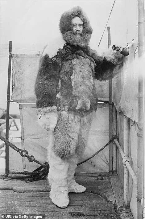 Robert E. Peary claimed to be the first to arrive at the North Pole in 1909