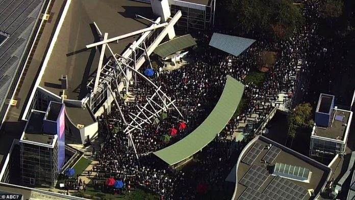 The New York Times report, which inspired this protest day by Google employees, came out on October 25, revealing that Rubin stepped down after a woman had come into the company to report a suspected sexual assault. Thousands of Google employees outside the Google office in San Francisco will be shown during the global strike on Thursday
