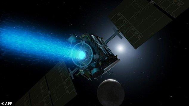 That week, the spaceship stopped communicating with the air traffic controllers and called on NASA to declare it dead on Thursday. In the picture: The concept of this artist shows the space probe Dawn, which has covered 4.3 billion kilometers since its launch in 2007