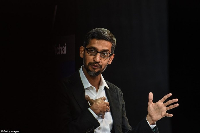 "Google's 46-year-old CEO, Sundar Pichai, admitted he was also angry - ""We all feel"" - yesterday at the New York Times Dealbook conference, when thousands of his employees marched against the company"