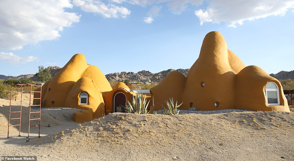 Each week, viewers wants to see three mind-blowing homes in 12 minute-long episodes and they're ready to vote for their favorite via Facebook's new video polling feature. Above, at exterior view of the desert dome house in Arizona