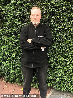 Engineer Darren Harris, pictured, 53, is taking legal action against Persimmon Homes after claiming 80 defects in his brand-new home