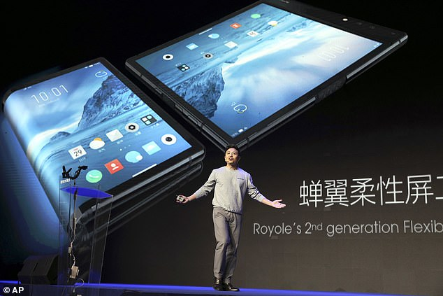 Bill Liu, the 35-year-old founder and CEO of Royole, will present the FlexPai in Beijing on Wednesday