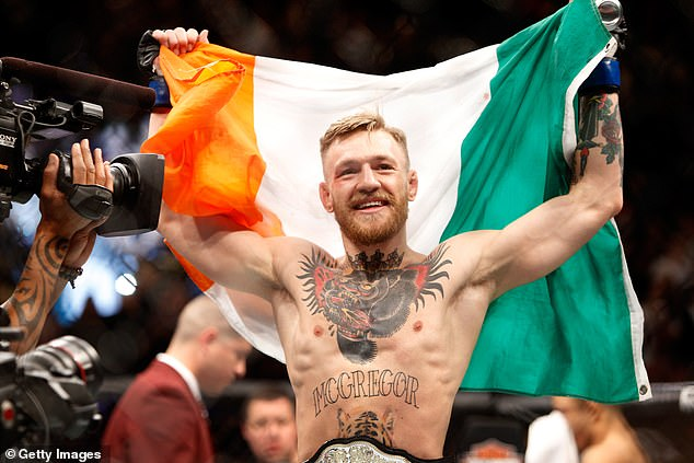 Fight: Punters have so called mixed martial arts fighter Conor McGregor has been put forward as a potential candidate for the I'm A Celebrity jungle