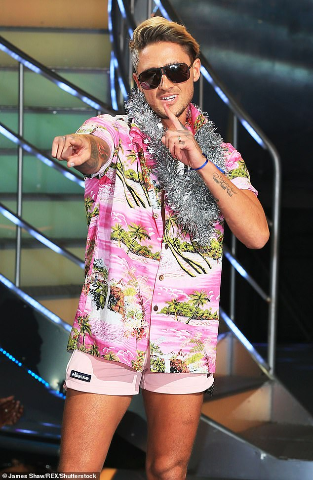 Latest addition: Celebrity Big Brother winner Stephen Bear previously signed on to an impressive TV contract