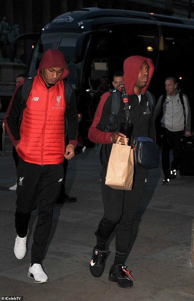 Fabinho and Daniel Sturridge both hope for a season at the Emirates Stadium