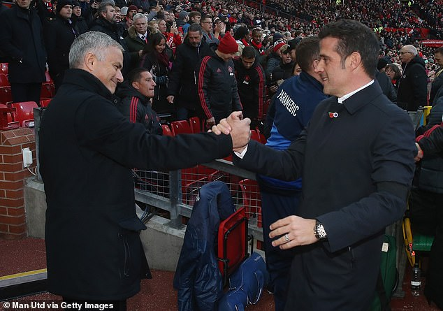 Silva was compared with his counterpart and compatriot Jose Mourinho
