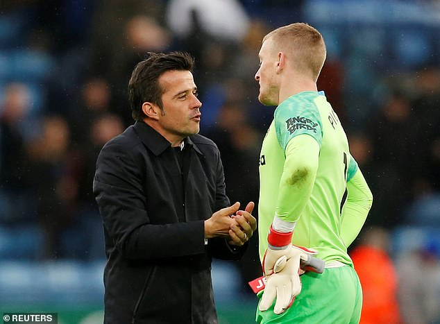 Jordan Pickford is one of those key players that Silva hopes will make Everton fame
