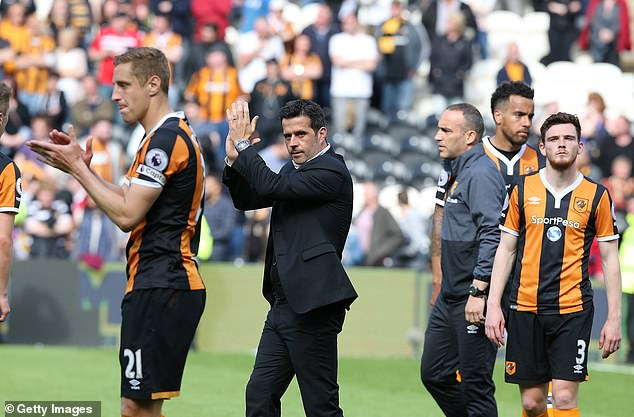 In the 2016/17 season, however, he could not guide Hull into the safety of the Premier League