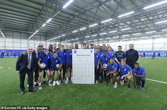 Silva's Toffees have taken time to work with the & # 39; Everton in the community & # 39; together