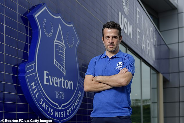 Marco Silva wants to prove he can win for the Premier League team Everton