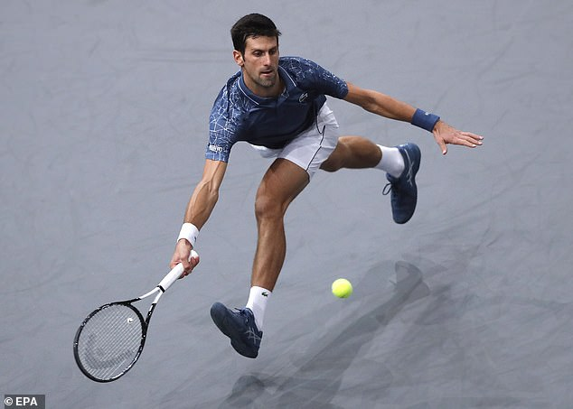 Djokovic won with 4: 6, 6: 2, 6: 3 against Roger Federer a delicious semi-final