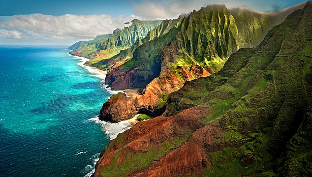 Mystic: The rugged coast of Napali on the north coast of Kauai