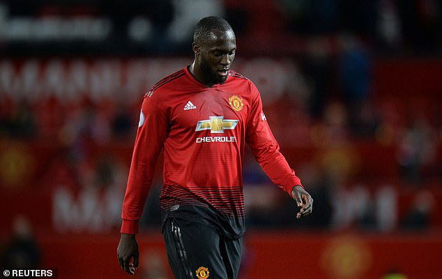 Romelu Lukaku has injured himself in training and is not in Manchester United's squad