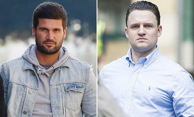 Given a ban: Aaron Fay, right and towies Dan Edgar