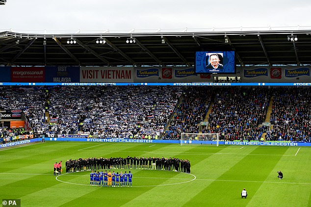 However, the tragedy will support this success when Leicester players and staff work with Cardiff players to mourn Srivaddhanaprabha's death on Saturday