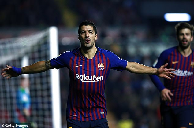 Luis Suarez scored a victory on Saturday to end Barcelona's comeback