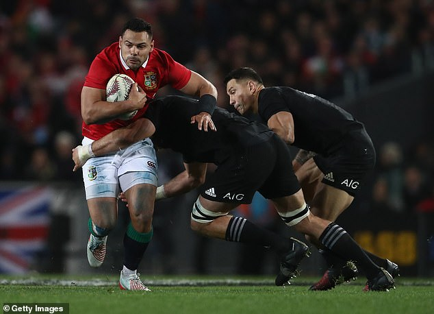 He believes that he has taken a lot from the British and Irish lions