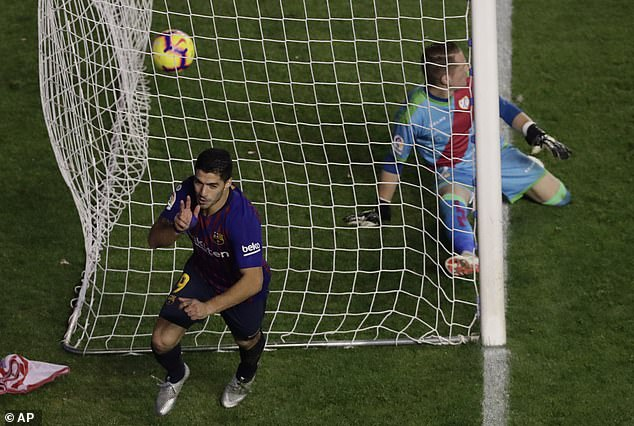 It was a late strike from Barcelona, ​​who had three minutes remaining