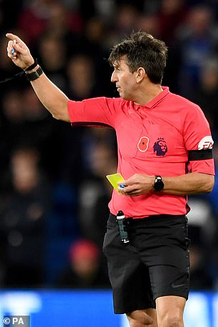 Despite the opportunity, the referee stuck to the letter of the law